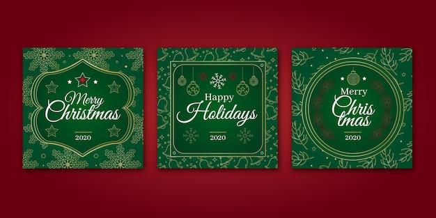 Zierweihnachtskarten