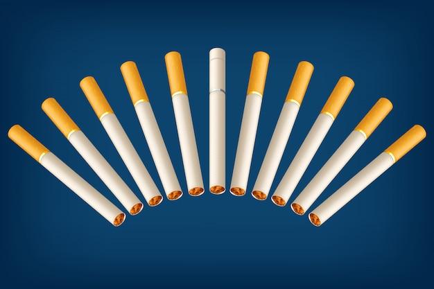 Zigaretten falsch rauchen