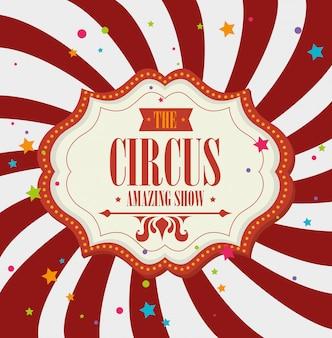 Zirkus karneval unterhaltung