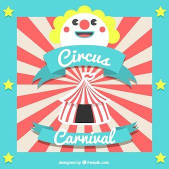 Zirkus-karnevals-hintergrund