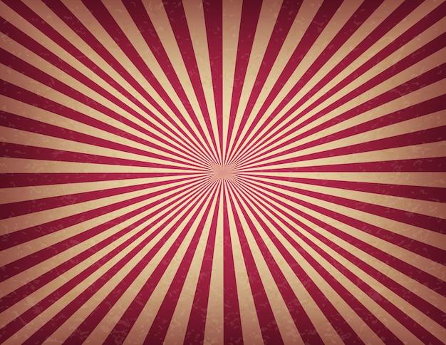 Zirkus- oder karnevalsschablone von wirbelstreifen. retro-kinozeichen der alten textur hintergrund