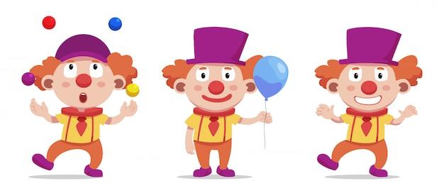 Zirkus und clowns