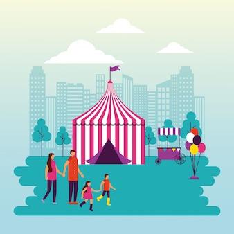 Zirkusmenschen fair