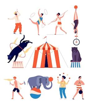 Zirkusschauspieler