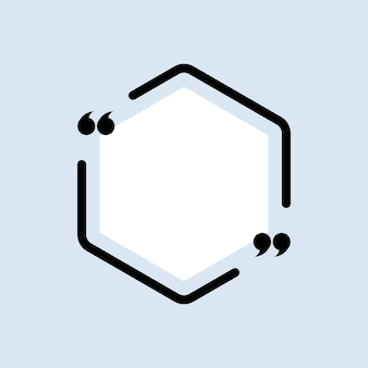 Zitat-symbol. anführungszeichenumriss, sprechblase, anführungszeichen oder sprechende zeichensammlung