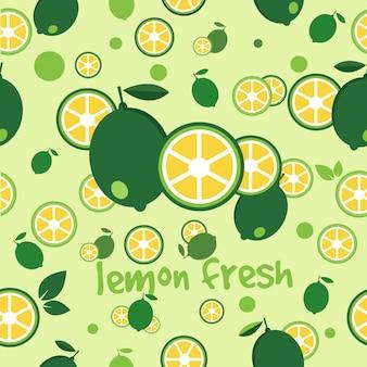 Zitrone frisch, ein design für ein geschäft, eine marke, identität, gesunde etc