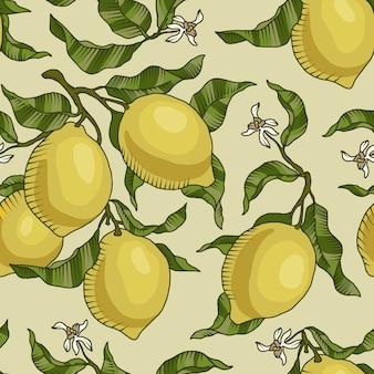 Zitrone hintergrund design