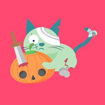 Zombie charakter vektor