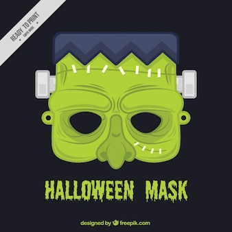 Zombie-halloween-maske