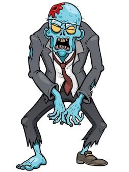 Zombie-karikatur
