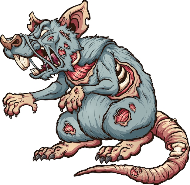 Zombie ratte