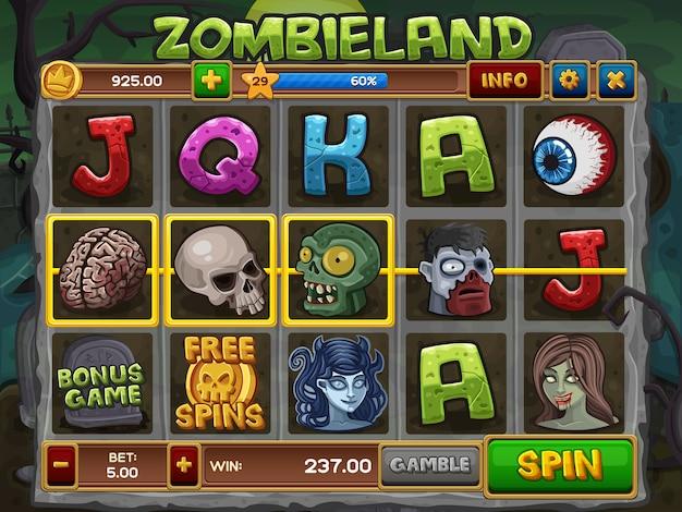 Zombie slots-spiel
