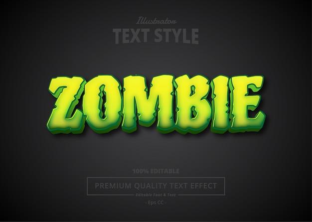 Zombie-texteffekt