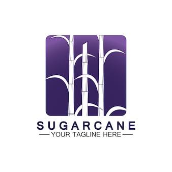 Zuckerrohr-logo-symbol-symbol-vektor-illustration-design-vorlage
