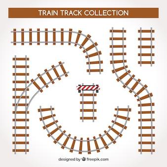 Züge verfolgen sammlung