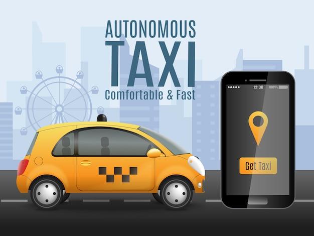 Zukünftige taxi app