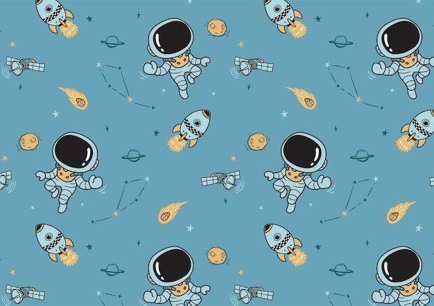 Zukünftiges astronautenmuster