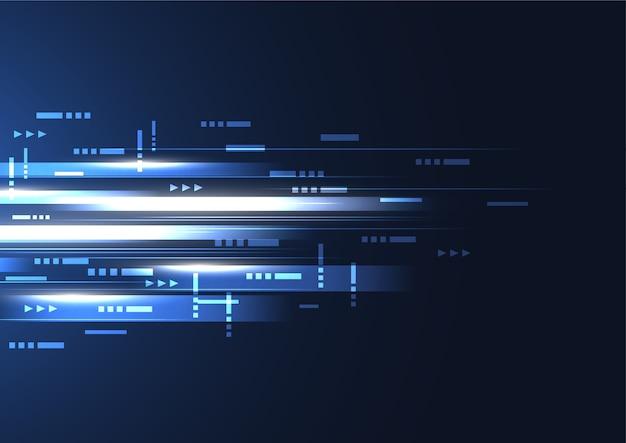 Zukünftiges hintergrunddesign des abstrakten pfeiles