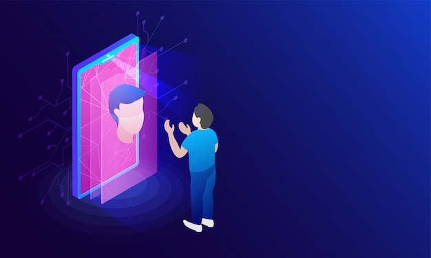 Zukunft der sicherheit und passwortkontrolle