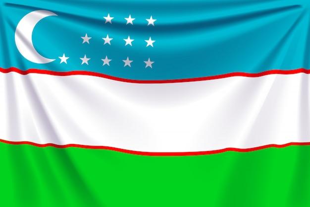 Zurück flagge usbekistan