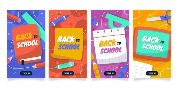 Zurück zur instagram-geschichtensammlung für die schule