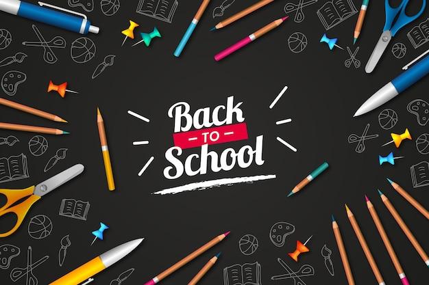 Zurück zur schule ziehen