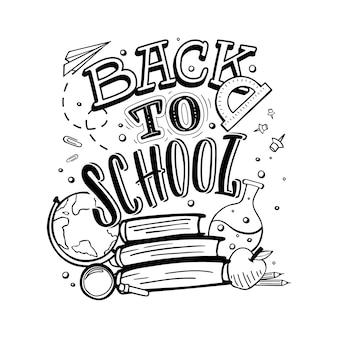 Zurück zur schule.