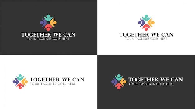 Zusammen können wir logo