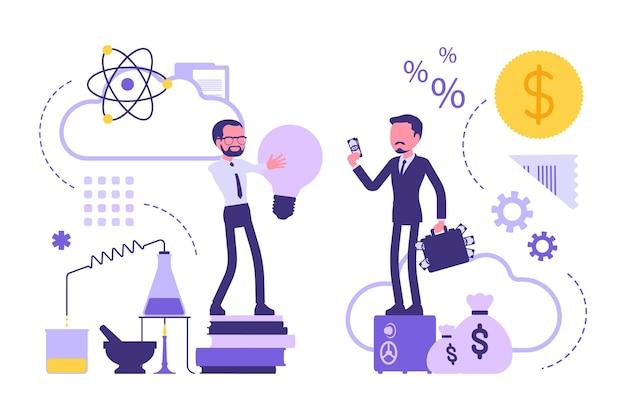 Zusammenarbeit zwischen wissenschaft und wirtschaft