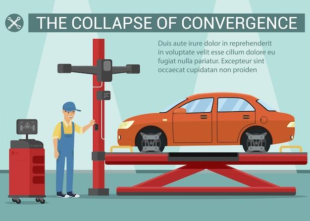Zusammenbruch der konvergenz