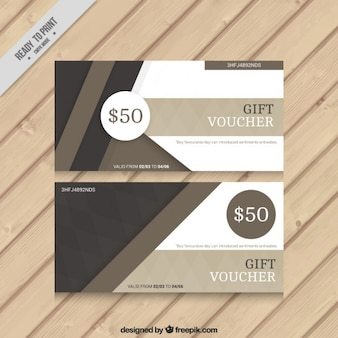 Zusammenfassung braunen rabatt-coupons