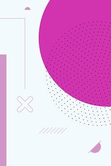 Zusammenfassung, formen bunt, lila, fuchsiafarbene steigung tapetenhintergrund-vektorillustration.