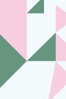 Zusammenfassung, formen salbeigrün, rosenquarztapetenhintergrund-vektorillustration.
