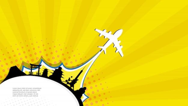 Zusammenfassung gehen reisejapan-comic-buch