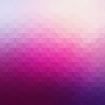 Zusammenfassung geometrischen hintergrund in rosa tönen