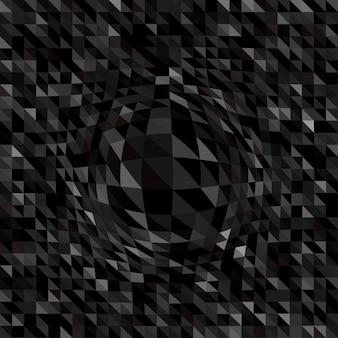 Zusammenfassung hintergrund mit einem dreieck-design