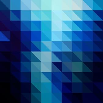 Zusammenfassung hintergrund mit einem low-poly-design