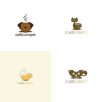 Zusammenfassung hund logo-set