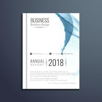 Zusammenfassung moderne business-broschüre vorlage