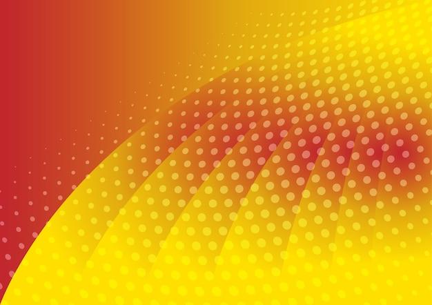 Zusammenfassung punktiert auf orange farbhintergrund