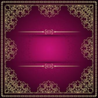 Zusammenfassung schöne luxus mandala hintergrund