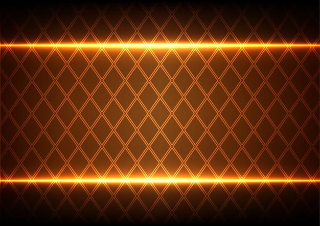 Zusammenfassung square und licht auf braunem hintergrund