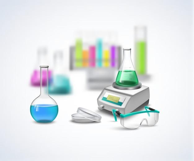 Zusammensetzung der chemischen ausrüstung