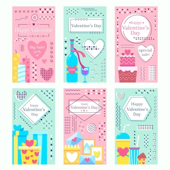 Zusammenstellung von valentinstaggeschichten