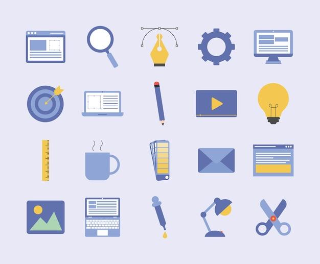 Zwanzig webdesign-artikel