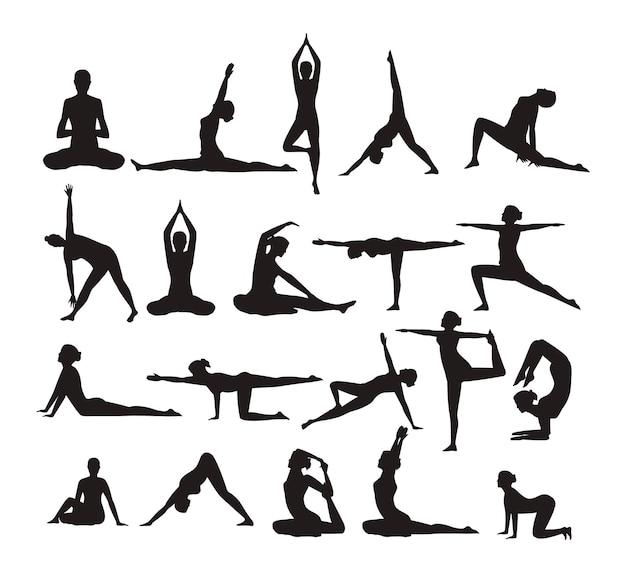 Zwanzig yoga-posen