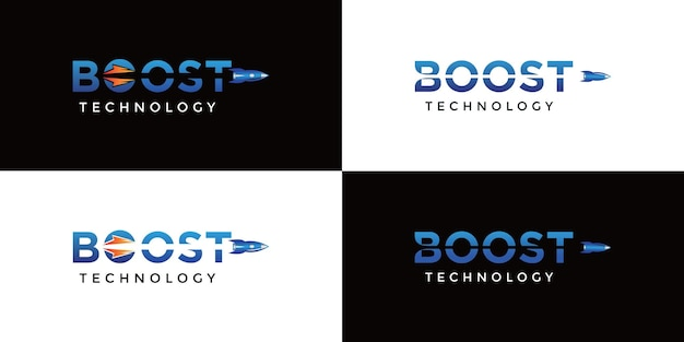 Zwei boost-technologie-logos