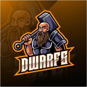 Zwerge sport logo vorlage