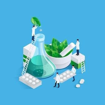 Zwerge und medikationskonzept