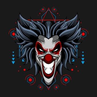 Zynischer clown